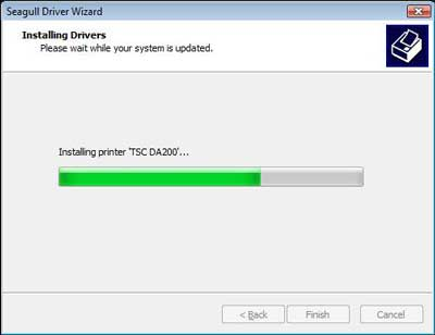 Installing Driver image