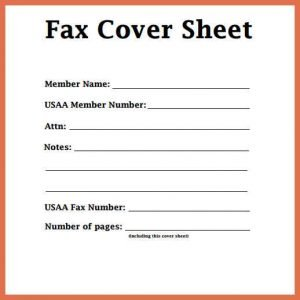 Know How to Get Free Fax Template