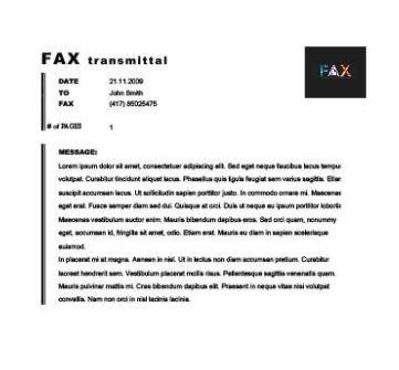 Classical Board fax