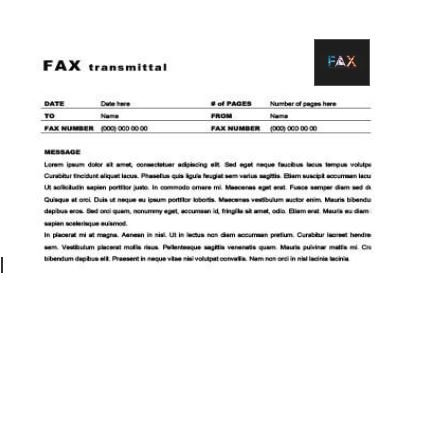 Uncomplicated Fax Transmittal