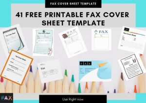 41 Free Printable Fax Cover Sheet Pdf Template that You can Use Right Now