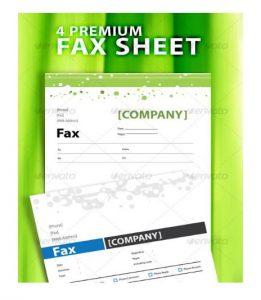 Confidential Premium Fax Word Template