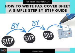 How to Write Fax Cover Sheet A Simple Step By Step Guide