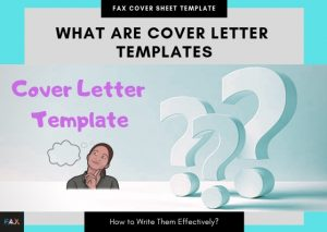 What are Cover Letter Templates and How to Write Them Effectively?